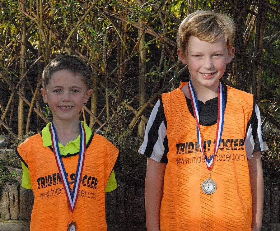 Reece and Ben, Trident Soccer's Players of the Month for September