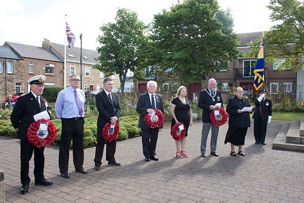 VJ Day remembrance ceremony