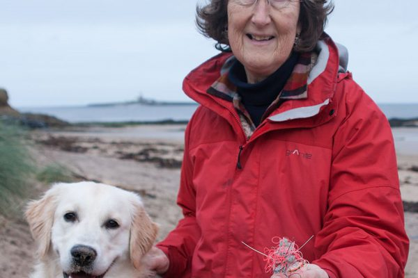 Dog walker warns of discarded fishing weights