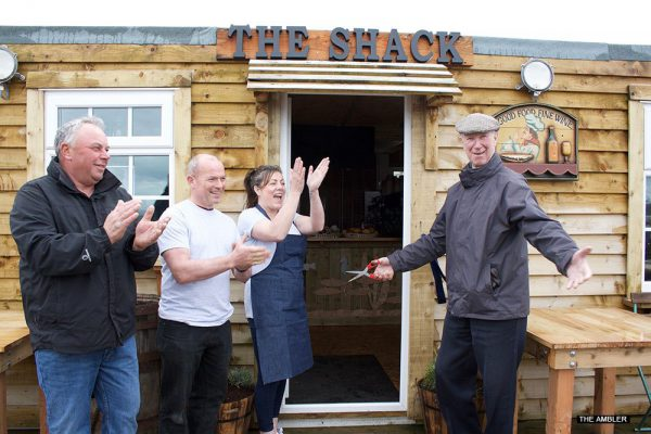 Jackie Charlton opens quirky new fish shack