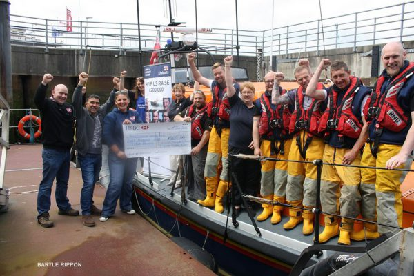 Amble lifeboat fundraisers hit £200k target