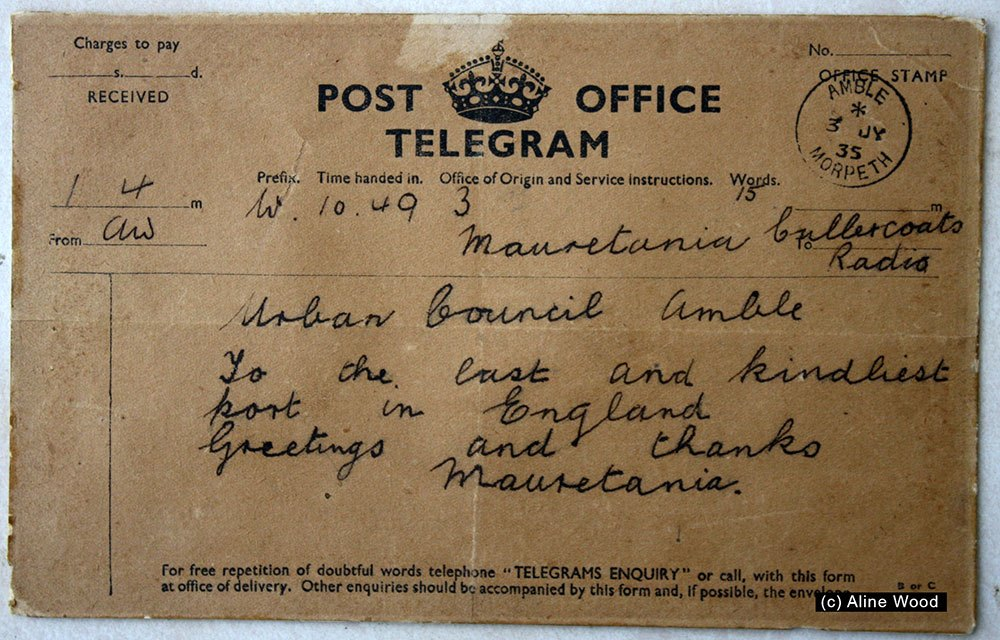 mauretania-to-amble-telegram