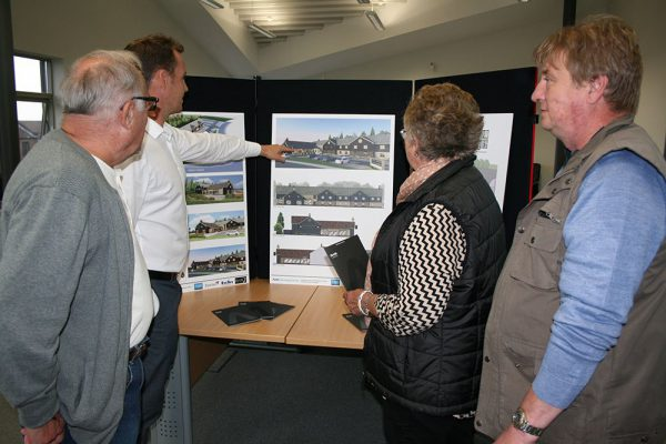 Hotel plans on view to public