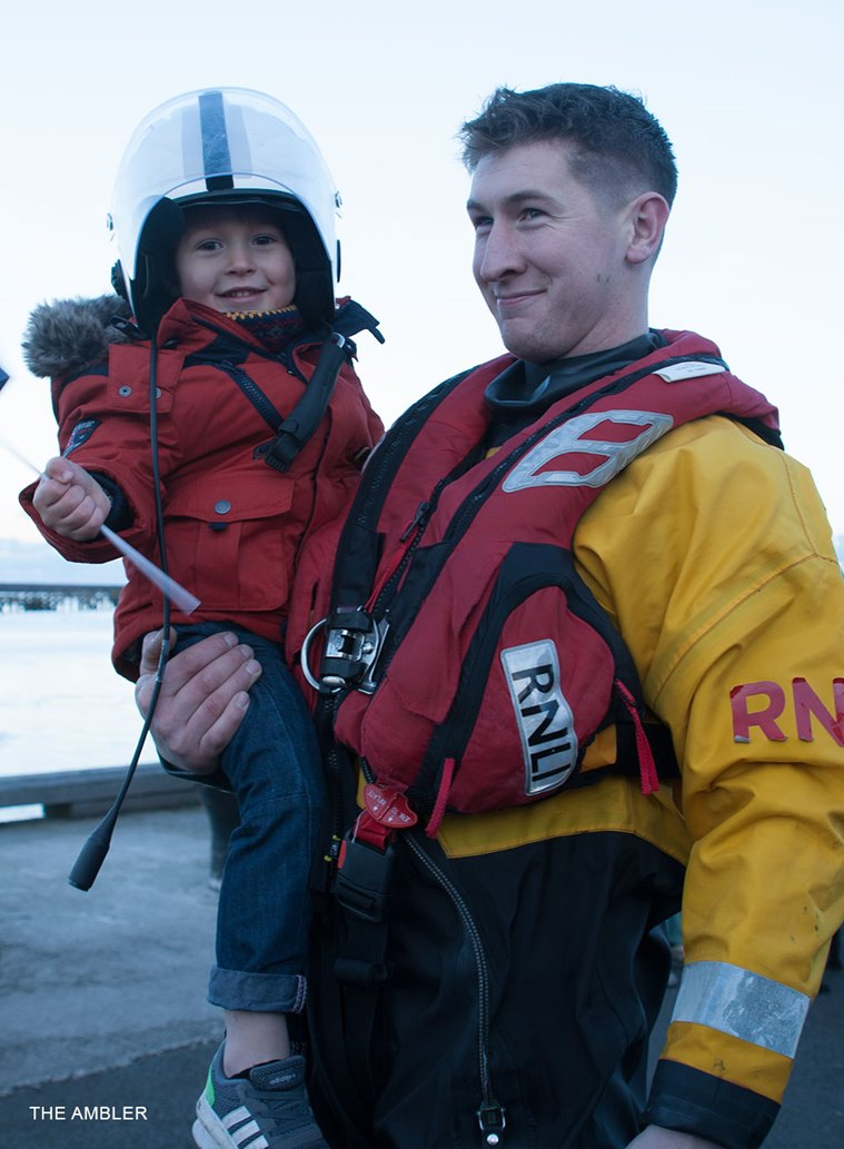 Amble-RNLI-crewman-Graham-Hall-and-son-Donovan