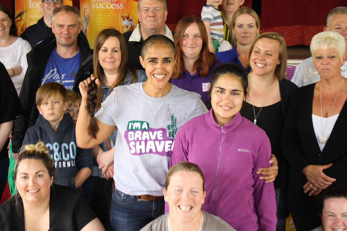 Judy-Lewis-hair-shaved-with-group