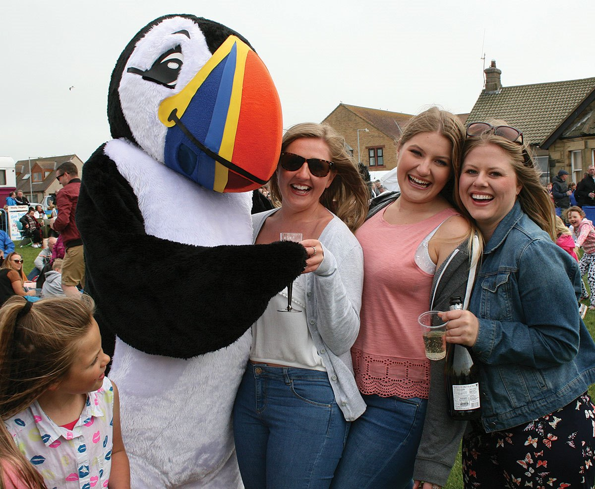 Puffin-Fest-Tommy-and-the-girls