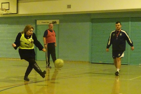 Walking football: fun and fitness for the over 40s