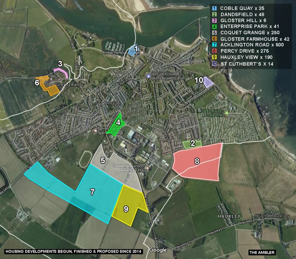 The ambler archive for northumberland county council for New housing developments