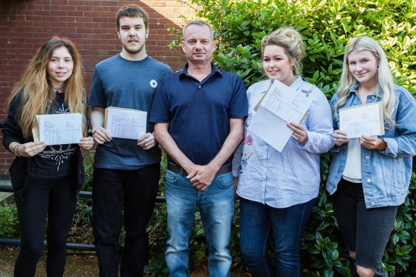 Happiness as JCSC students receive A-Level results