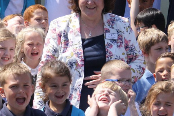 Saying goodbye to a much loved Headteacher