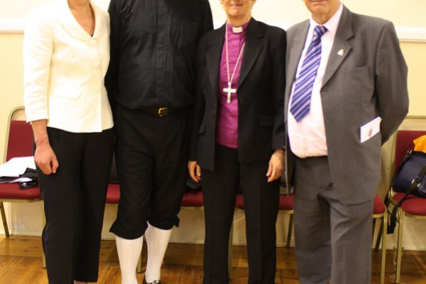 Sword dancing Vicar welcomed to St Cuthbert's