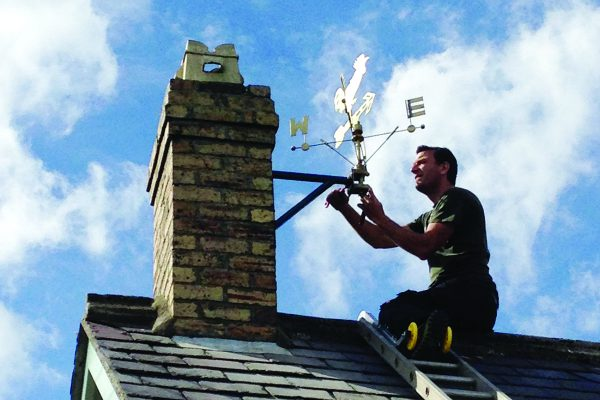The tale of the Hauxley weather vane