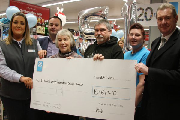Local causes benefit from local shoppers