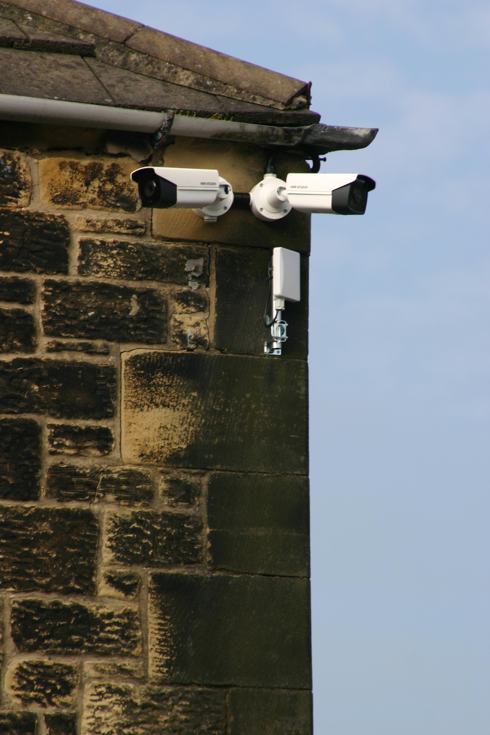CCTV on corner