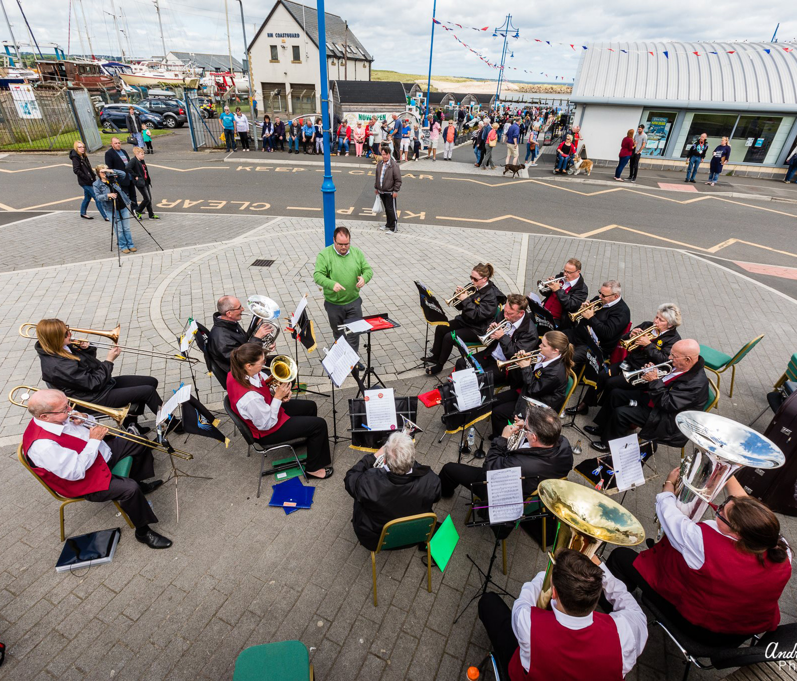 Mauretania Day brass band