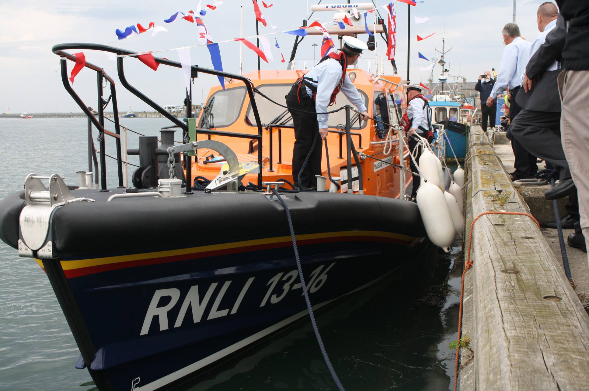 RNLI Elizabeth and Leonard naming