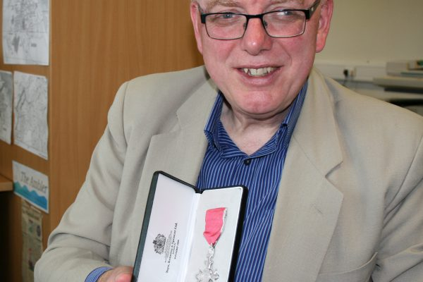Robert Arckless honoured with MBE