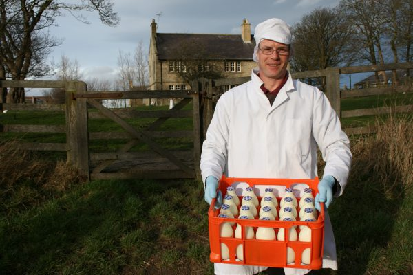 Dairy farmer delivers to your doorstep