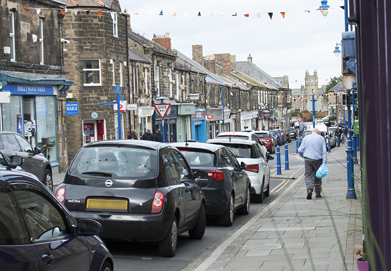 Vote for Amble to win High Street prize