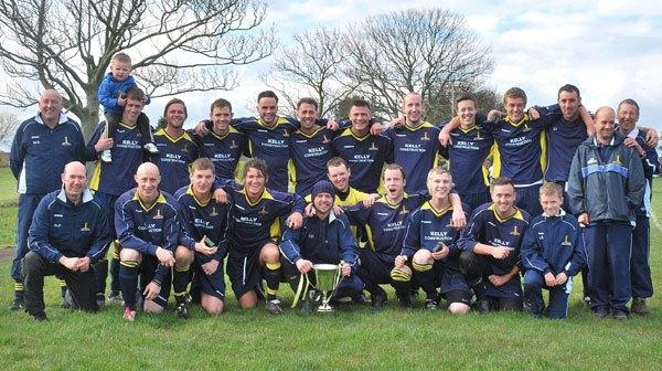 Amble United team