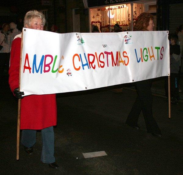 Amble Christmas Lights
