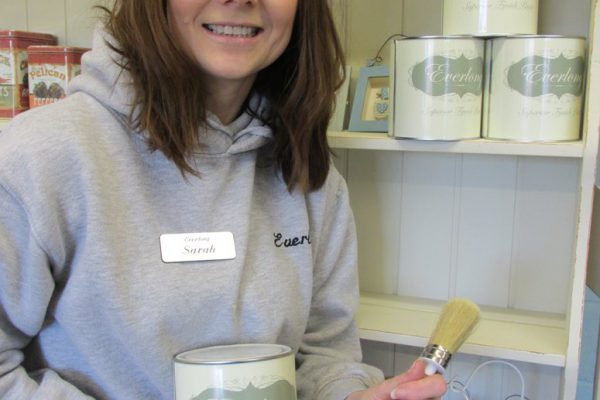 A fresh lick of paint for Shabby Chic entrepreneur