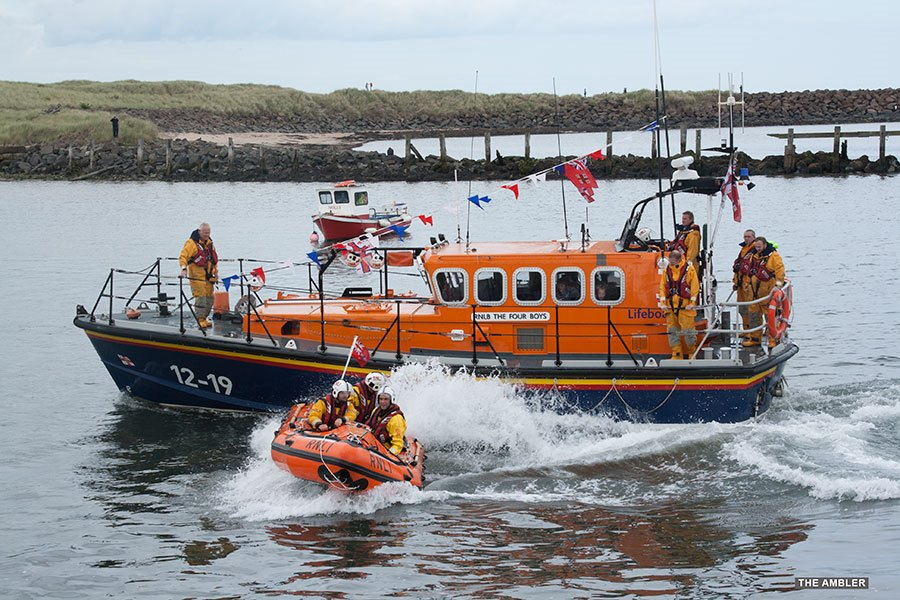 Two-lifeboats