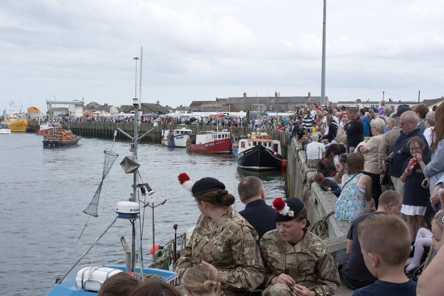 Aug: Lifeboat Day crowds