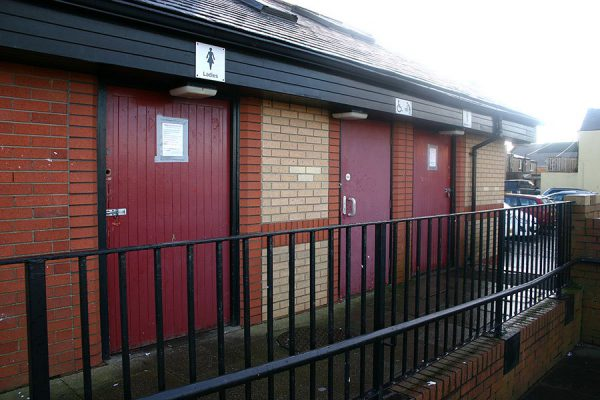 Public toilets closed after vandalism