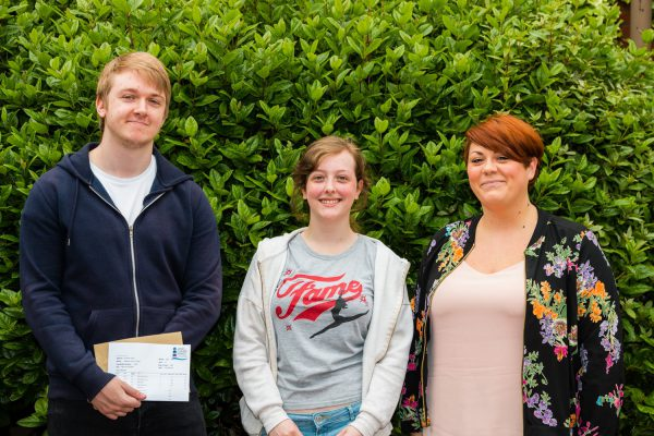 Delight as JCSC Sixth Form students receive their A-Level results