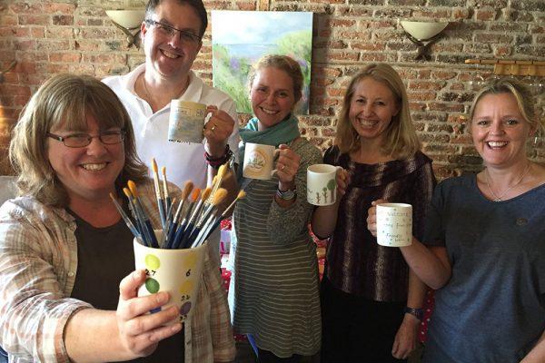 Positive pottery workshops
