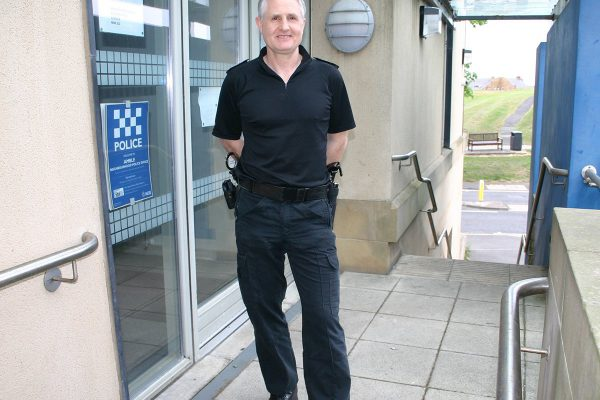 No front desk service at Amble Police Station