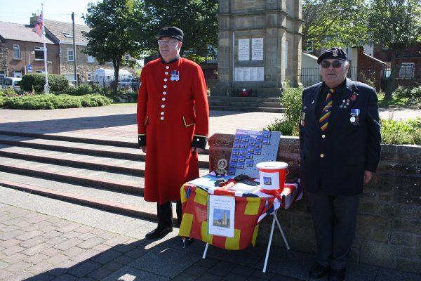 Raising money for war memorial restoration