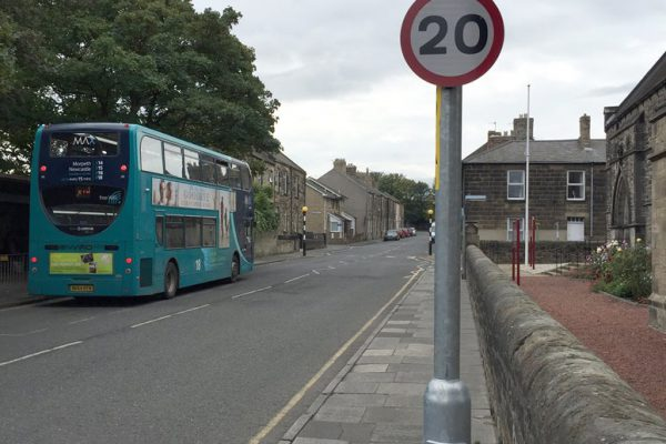 20 mph speed limit now in force in town centre