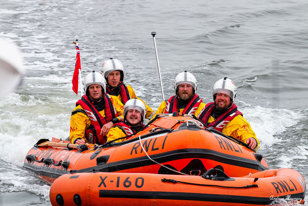 Mildred Holcroft crew at lifeboat day