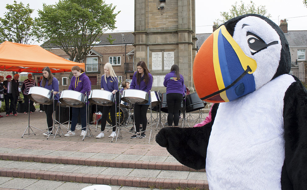 Cramlington Caribbean Crew steel band