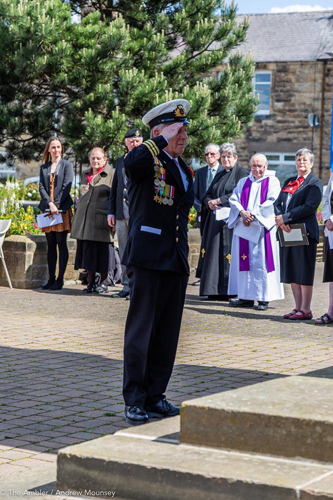 Royal Navy salute AM