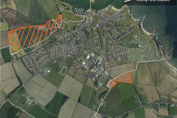 Amble/Hauxley parish boundary change