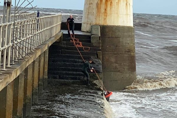 Narrow escape by Amble surfer in notorious blackspot