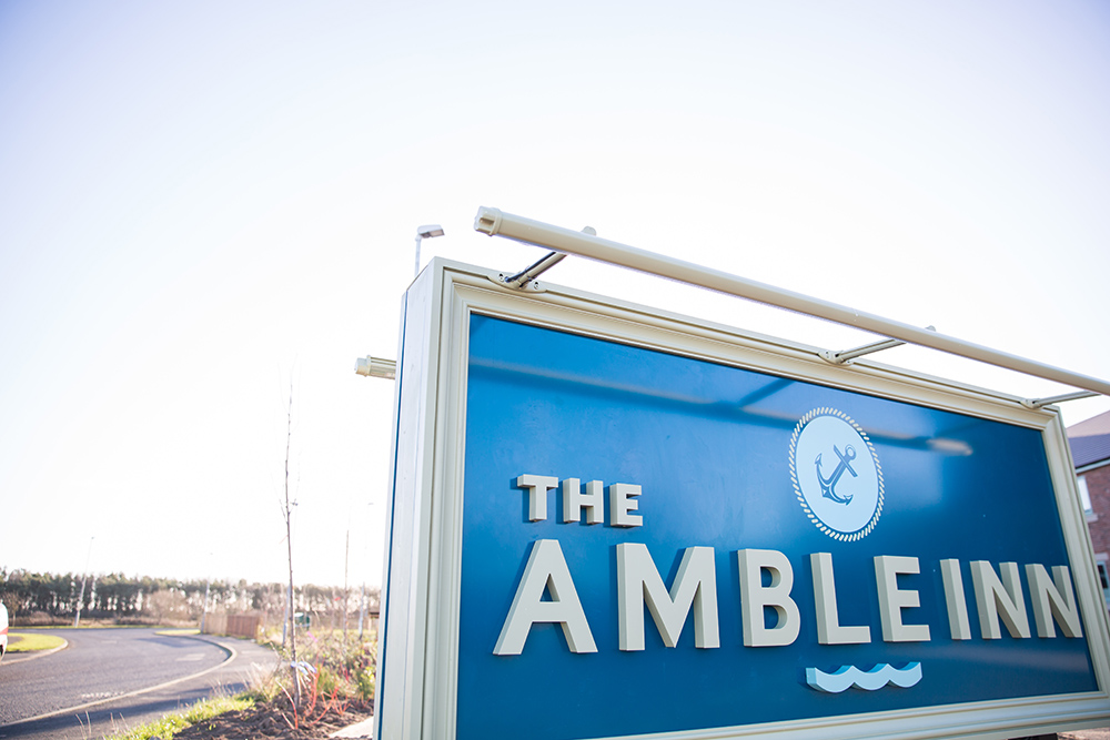 Amble Inn opens