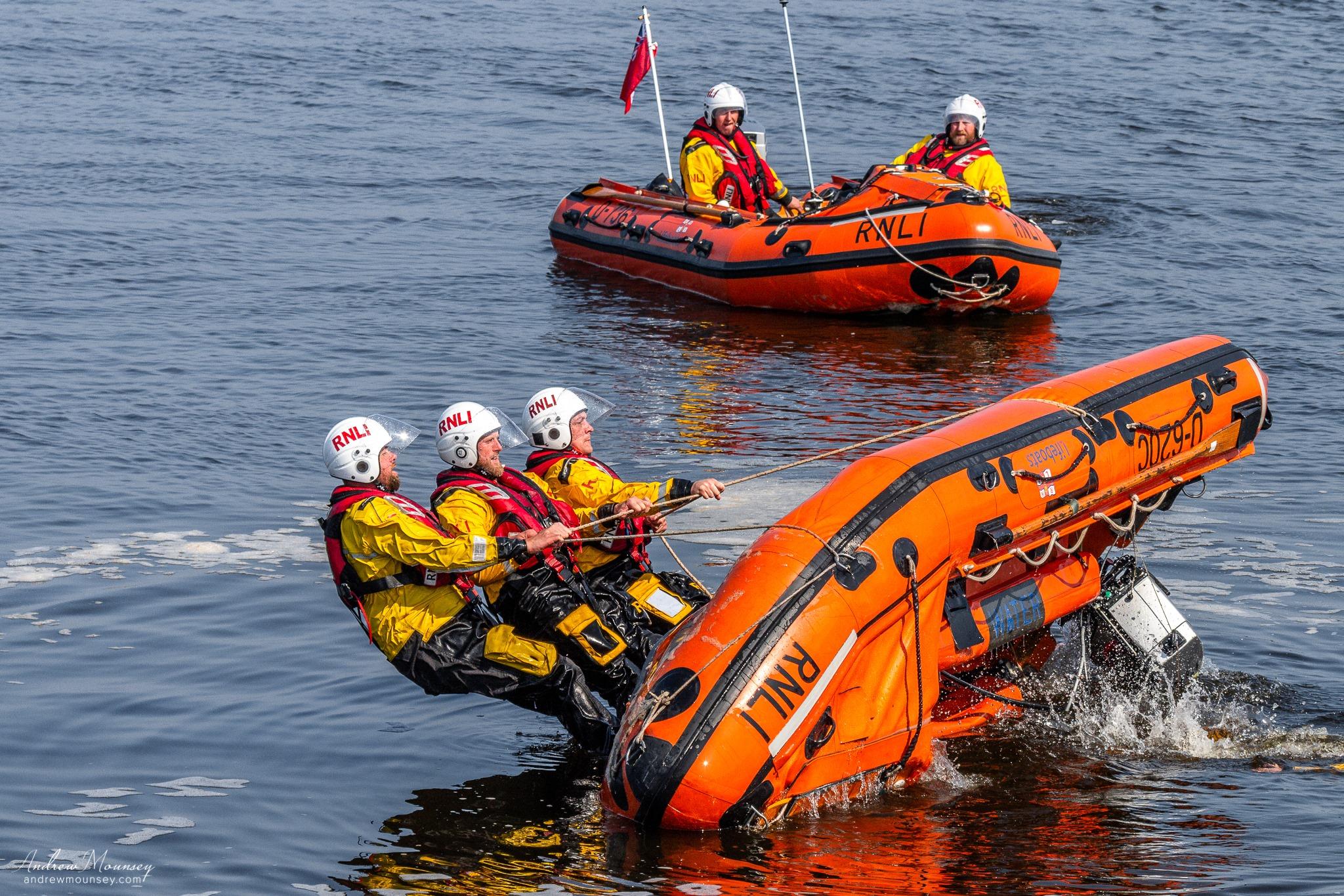 Inshore crew practice