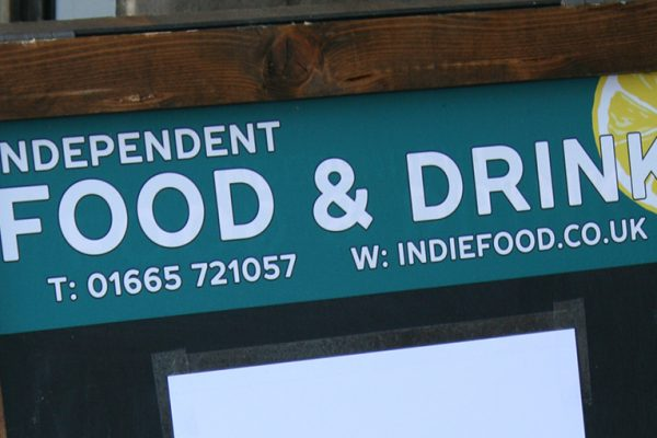 Independent food and drink shop update