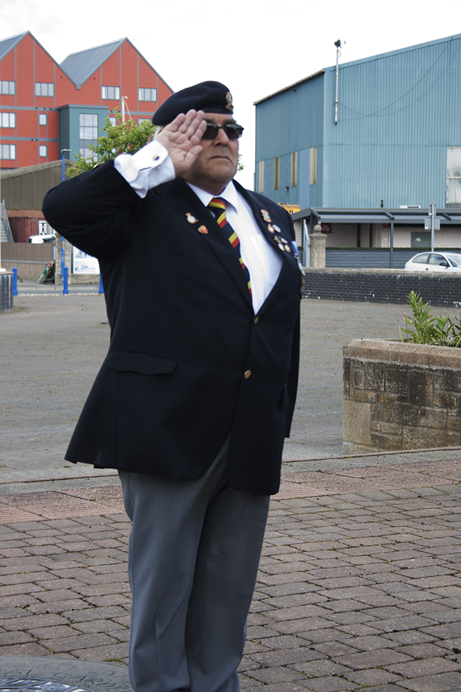 Peter Proctor-Cannon salute AW