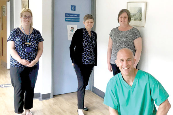 Amble GPs: We must not be complacent