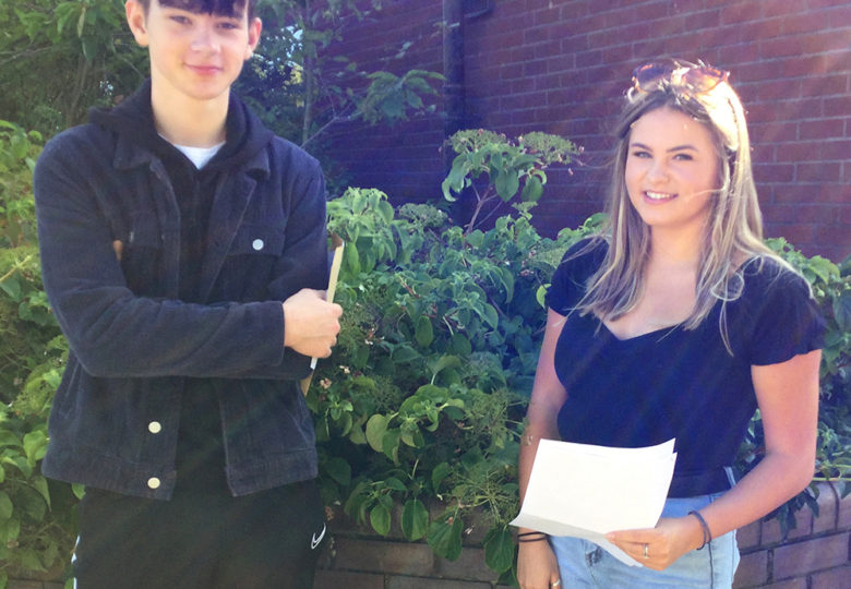 Relief and joy for 'well deserved' grades