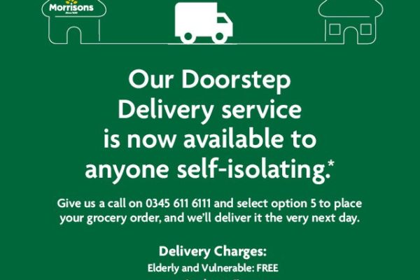 Doorstep deliveries from Morrisons Amble