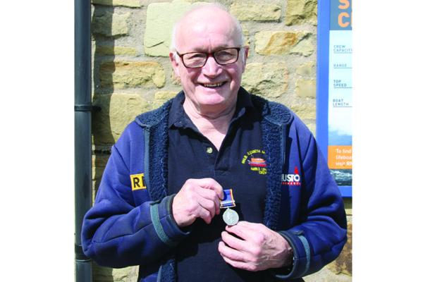 Rodney's 50 year service medal award